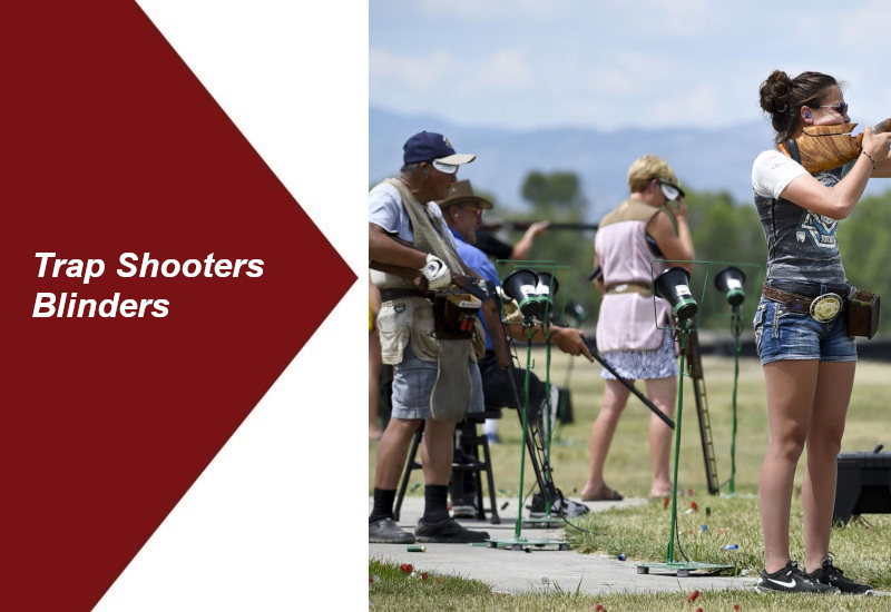 Why Do Trap Shooters Wear Blinders? Clay Shooting For Beginners
