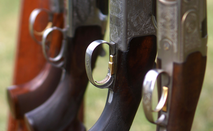 12 or 20 Gauge for Clay Shooting