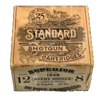 """""""Standard"""" Loaded Shells Selby Smelting Co. $300 Box"""