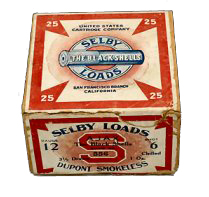 """""""Selby Loads, Black Shell"""" Selby Cartridge Co."""