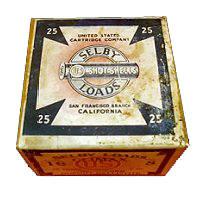 """""""Selby Loads, Shot Shell"""" Selby Cartridge Co."""