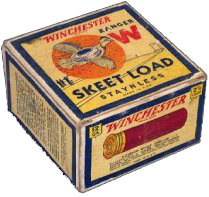 """""""Skeet Load"""" Staynless Winchester $125 Box"""